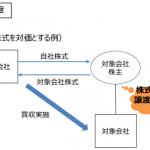 【2018年度税制改正要望】広がるか!?自社株対価TOB