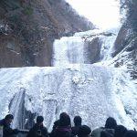 2018年完全凍結なるか?圧巻の袋田の滝、氷瀑を見に行く