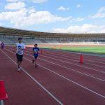【柏の葉爽快マラソン】柏の葉公園のペアマラソン5kmで長女がマラソン大会デビュー!